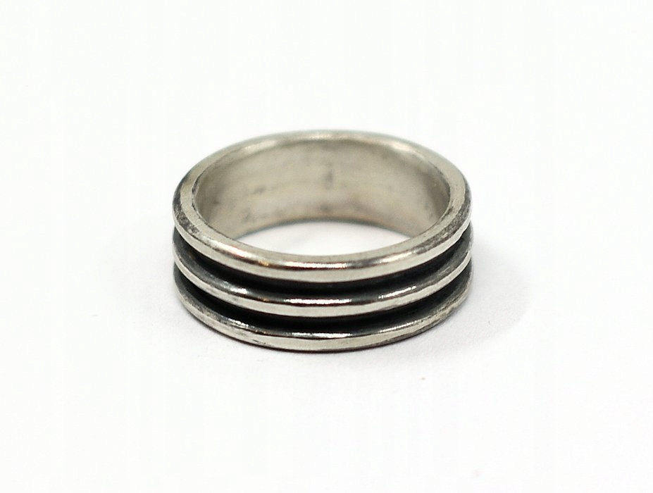 krúžok 925 sterling silver leštený povrch UNISEX VINTAGE