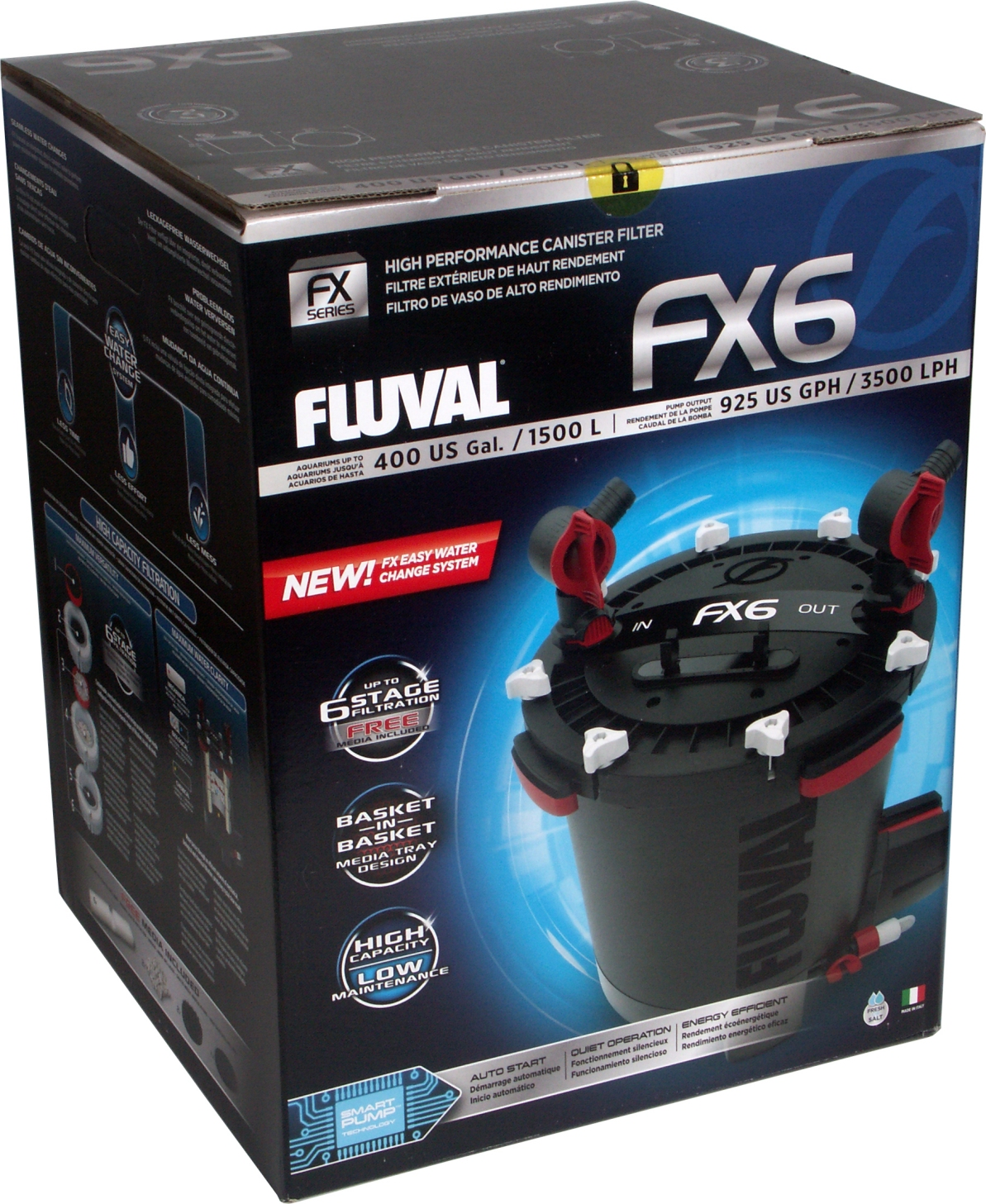 HAGEN FLUVAL FX6 FILTR ZEWNĘTRZNY + GRATISY