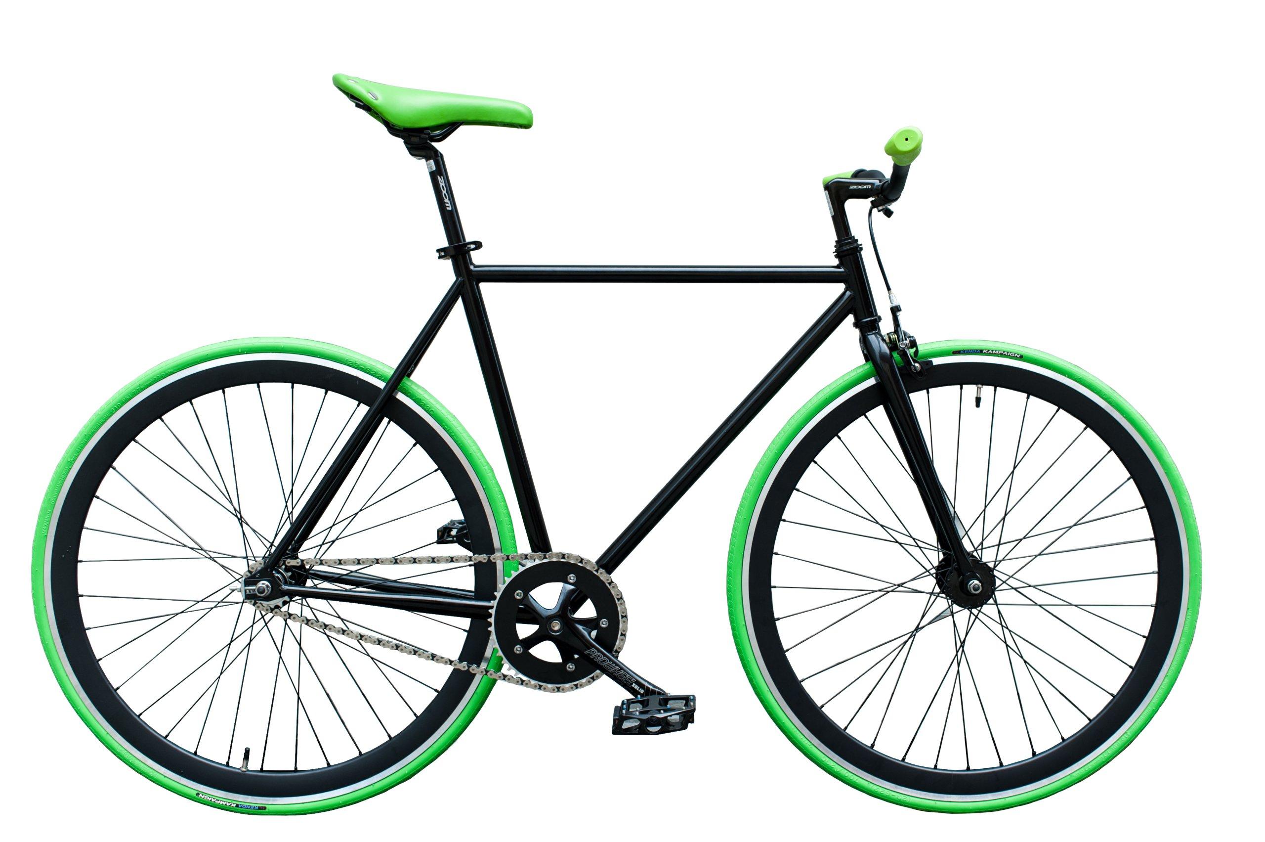 Woo Hoo bicykli Bicykle - ZELENÁ, Ostré Koleso 19''