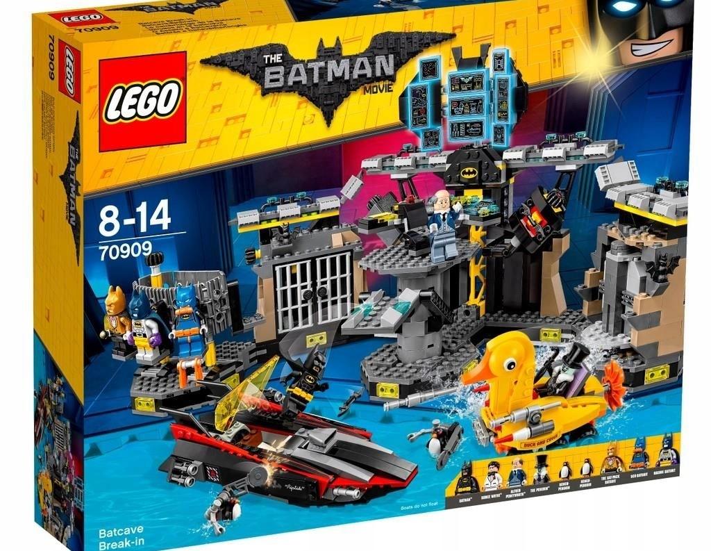 Lego 70909 @@@ BATMANOVÁ JASKYŇA @@@ bez figúrok !!!