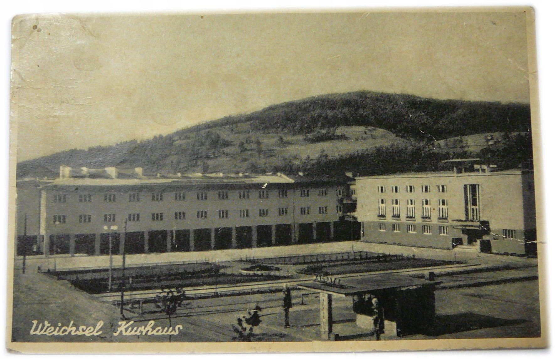Weichel Kurhaus Wisła 1944 pohľadnice