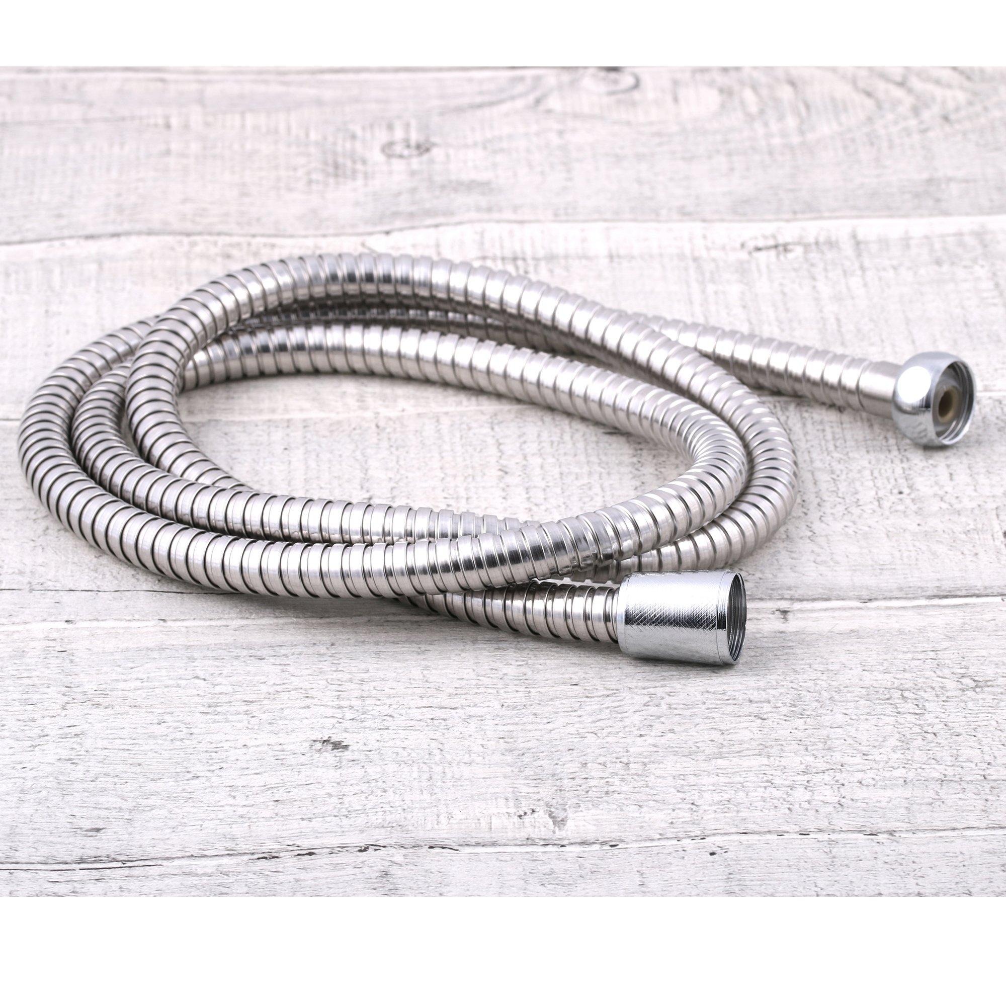Wąż prysznicowy chromowany standardowy 120cm EAN 5903002060773