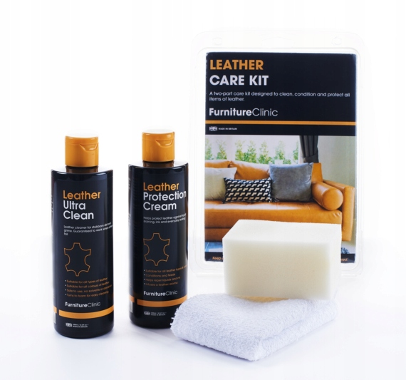 Furniture Clinic Leather Care Kit очистка кожи