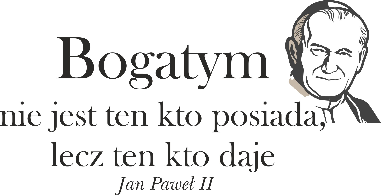 Naklejki Na ścianę Napisy Cytaty Papież Jan Paweł