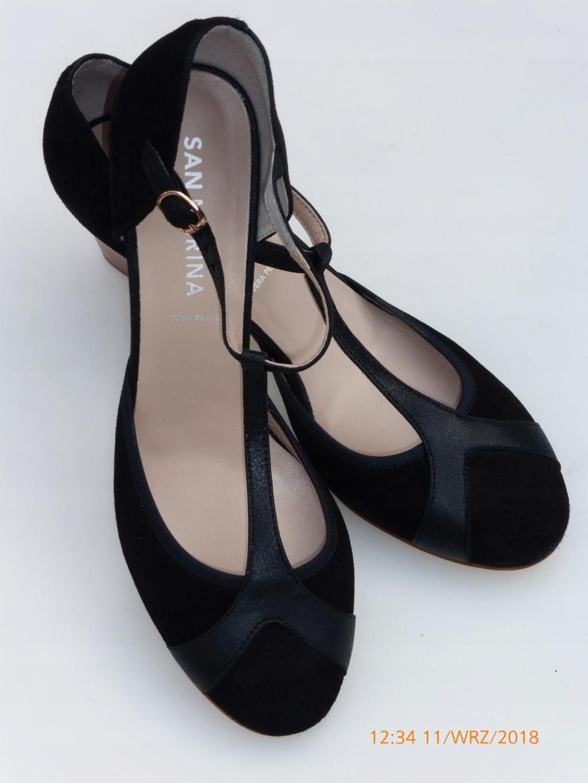 Tango topánky s popruh T - tyče retro MADRIN 40
