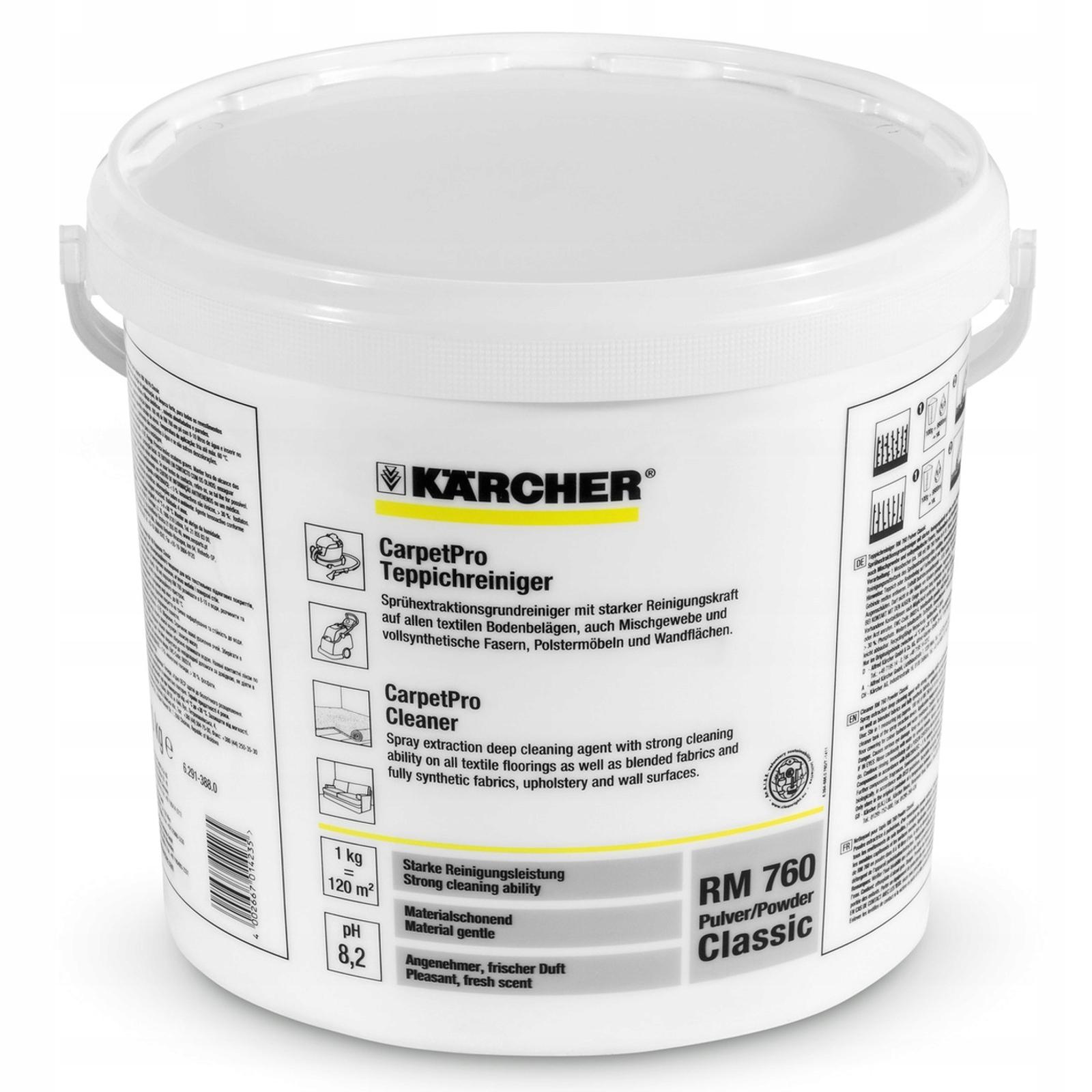 KARCHER RM 760 Classic Prací prášok 10 KG