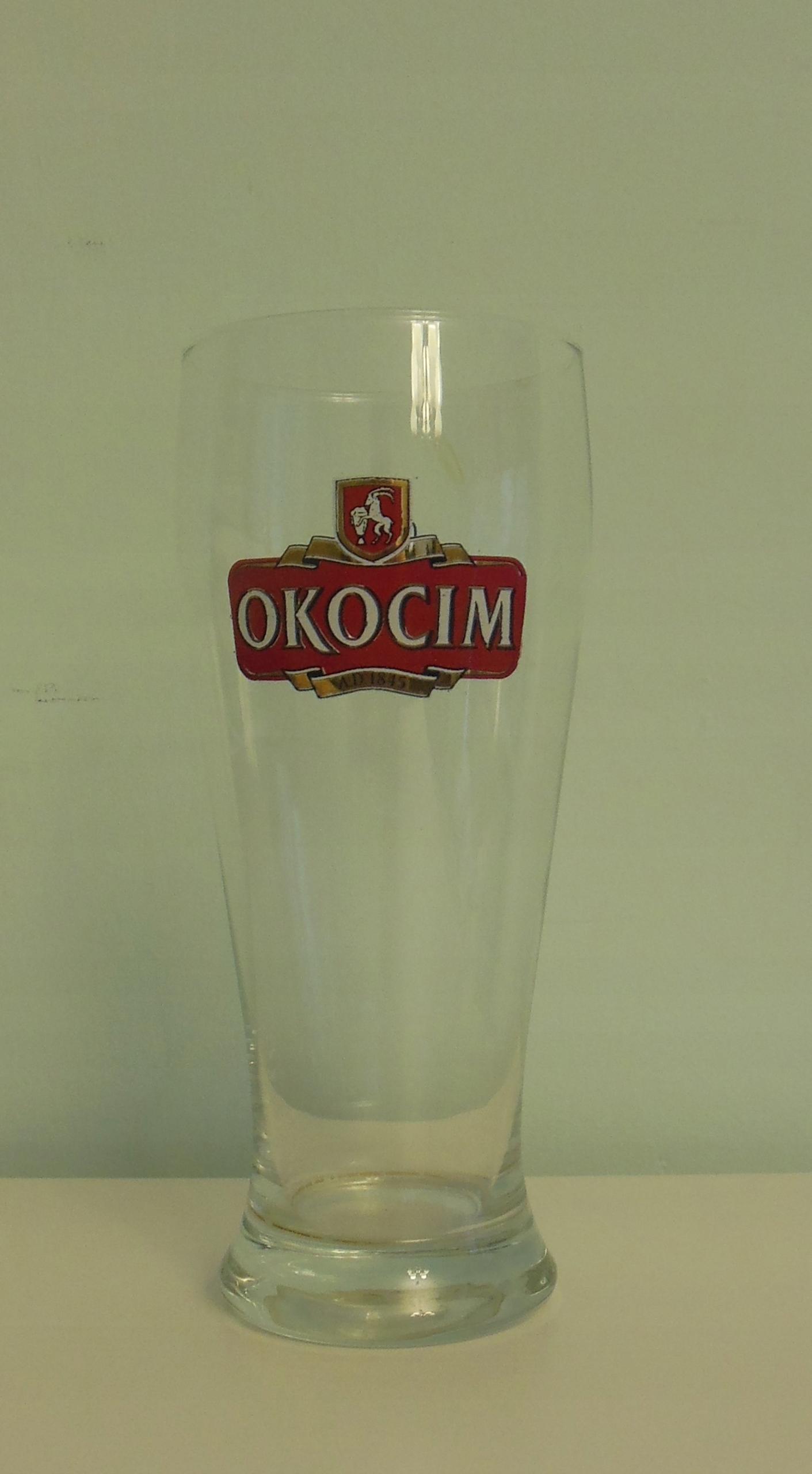 szklanka Okocim 0,3 l