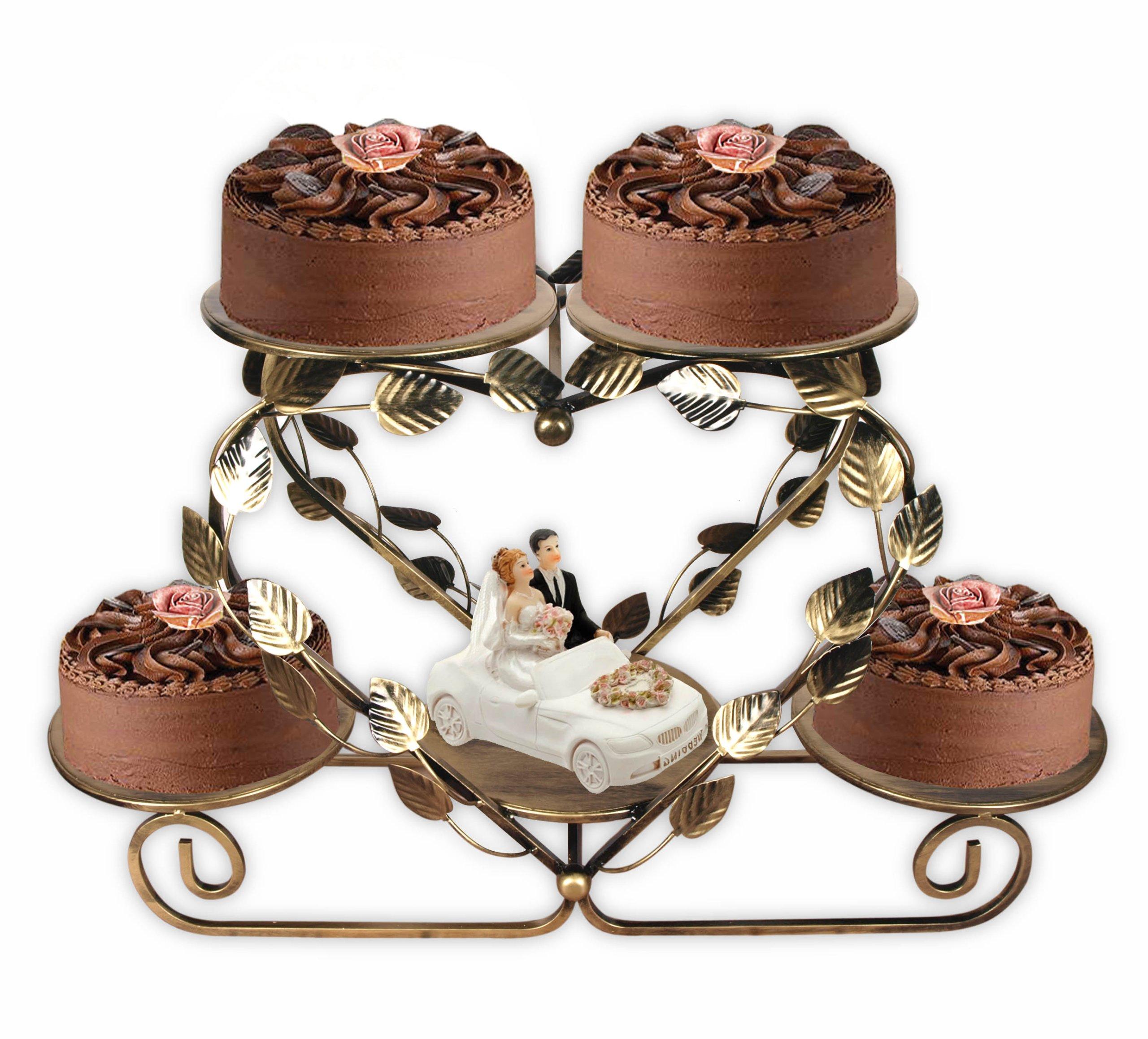 Nábytok Stojan pre Cake Gastronómia Svadobné Party Decor