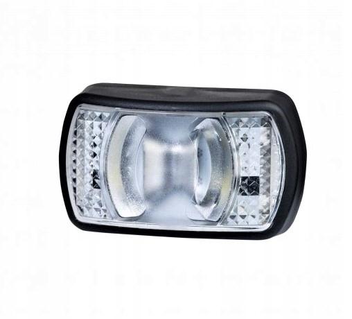 Obrysówka передний Фонарь габаритный светодиодный LED, белый LD 2227