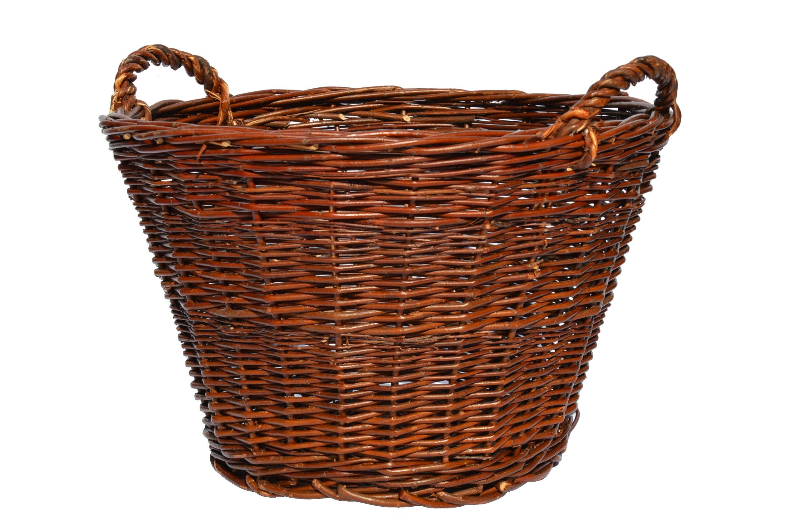Hospodársky košík prútený prútik FI 30 cm