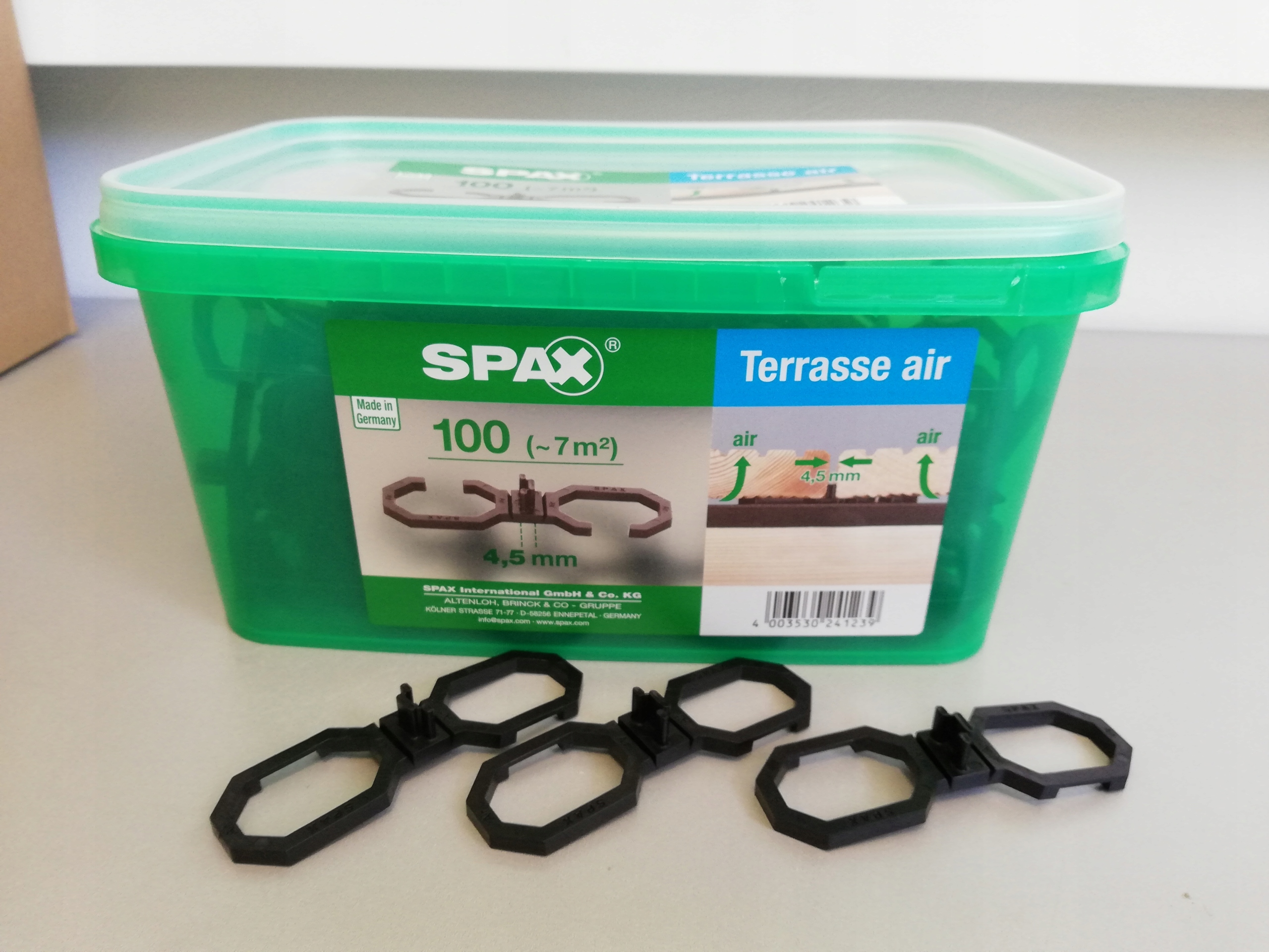 Podkładki Spax Air 45mm Pod Deski Tarasowe 100szt
