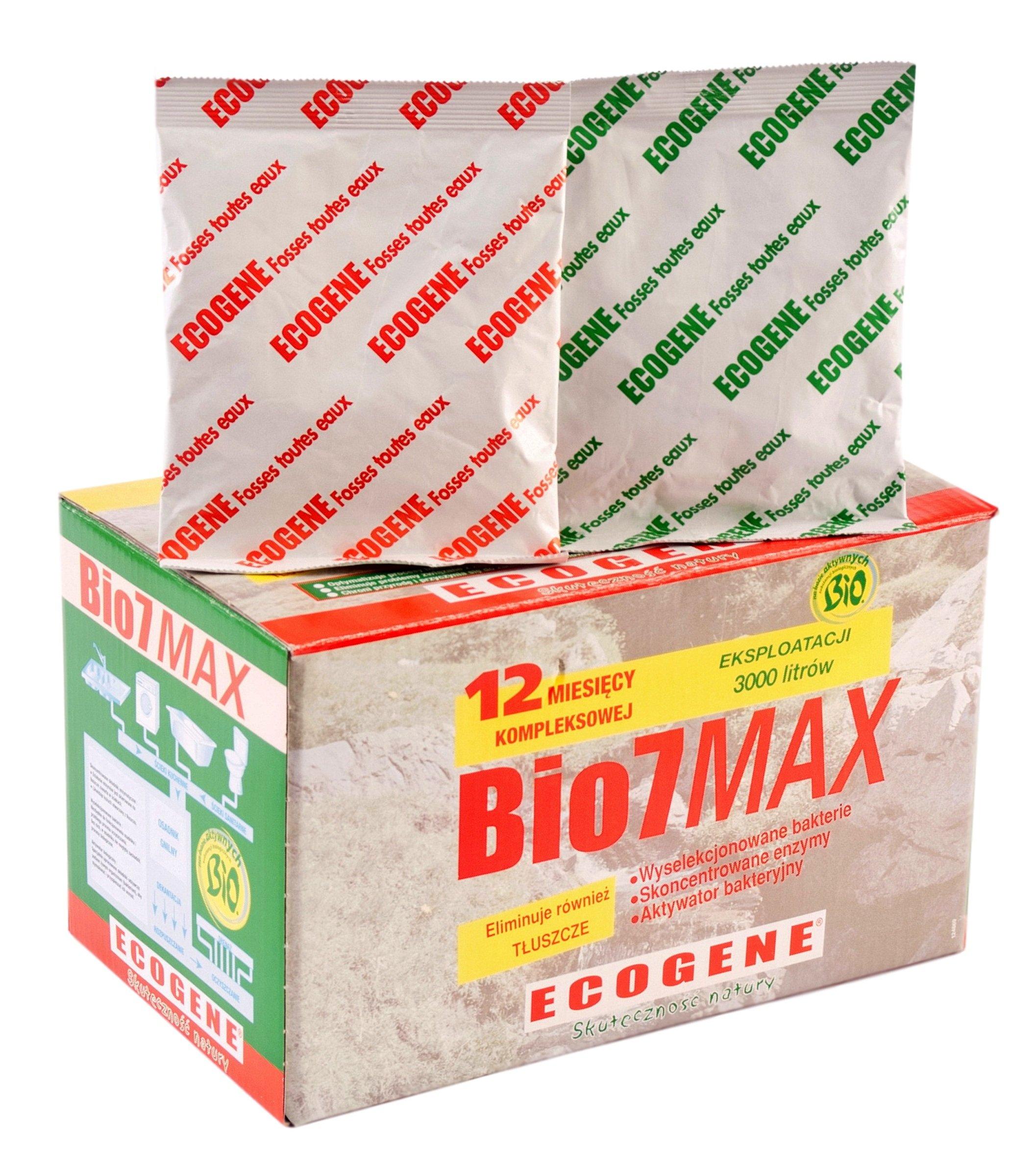 Bio7 MAX 2 KG BAKTERIE DO OCZYSZCZALNI SZAMBA
