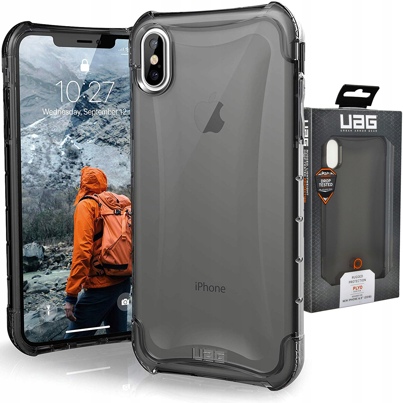 Etui do iPhone Xs Max, Urban Armor Gear Plyo, Uag