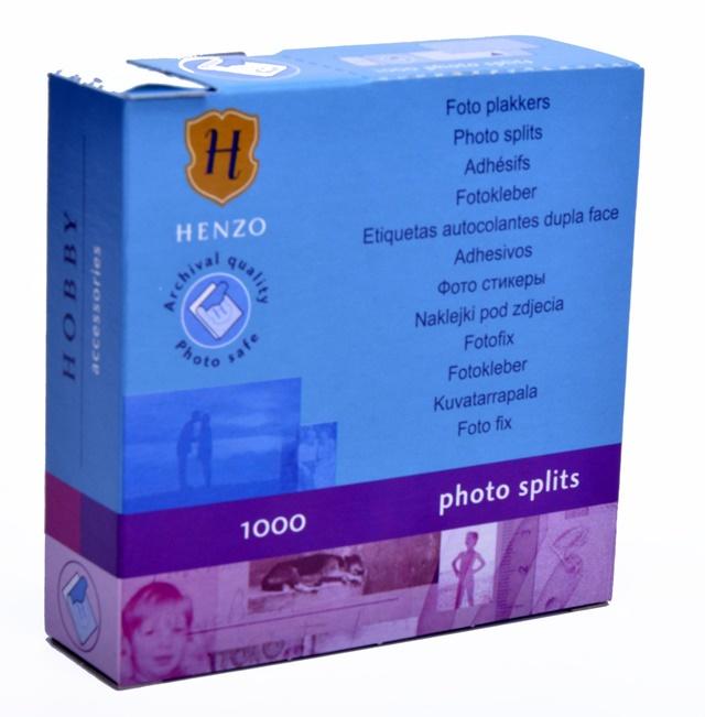 """Item """"VELCRO"""" FOR STICKING PHOTOS 1000 PCs HENZO"""