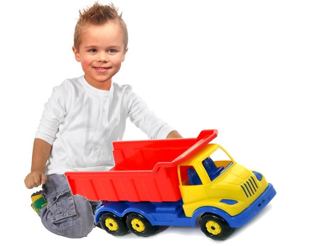 Wader veľký farebný truck Tir sklápač 4112