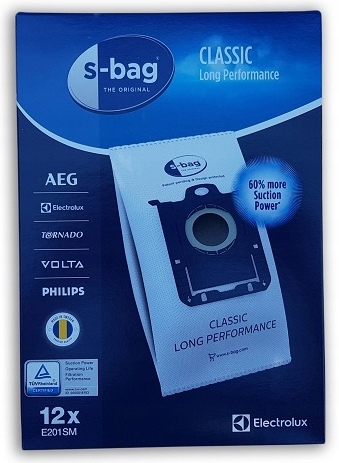 12x Мешки Electrolux E201SM S-Bag Long Performance