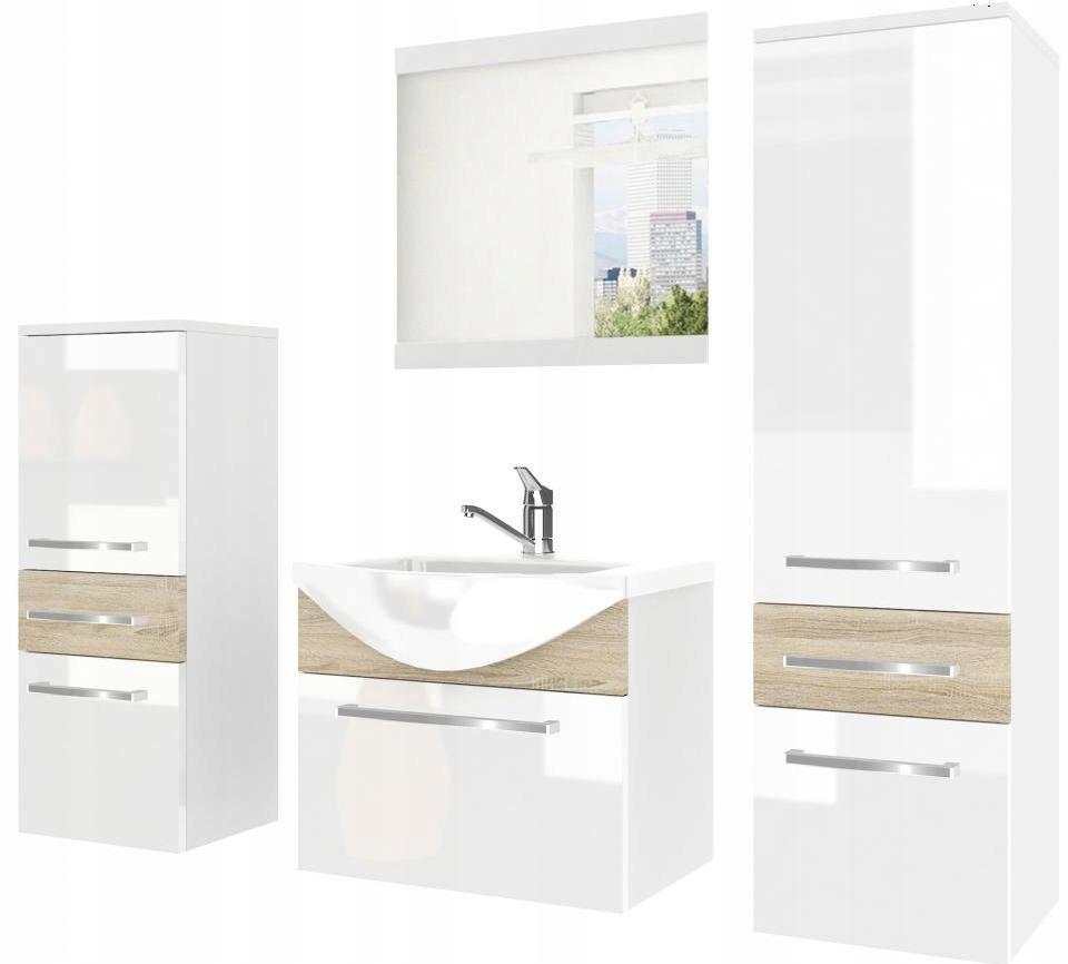 Мебель для ванной комнаты с зеркалом С раковиной с БАТАРЕЕЙ