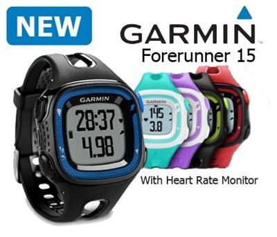 GARMIN Predchodcu 15 GPS s srdcovej frekvencie snímač