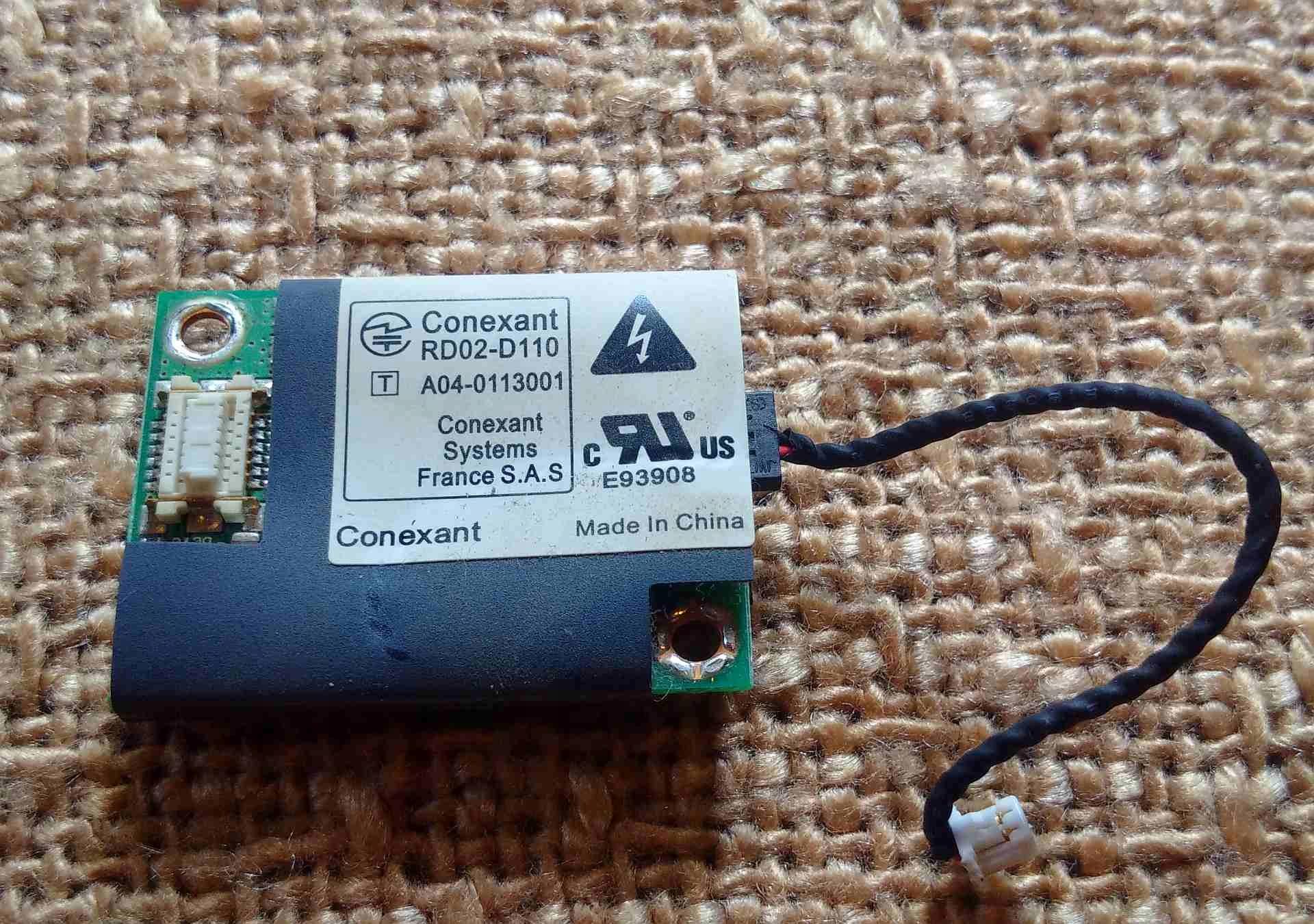 CONEXANT HDA D110 DRIVERS FOR MAC