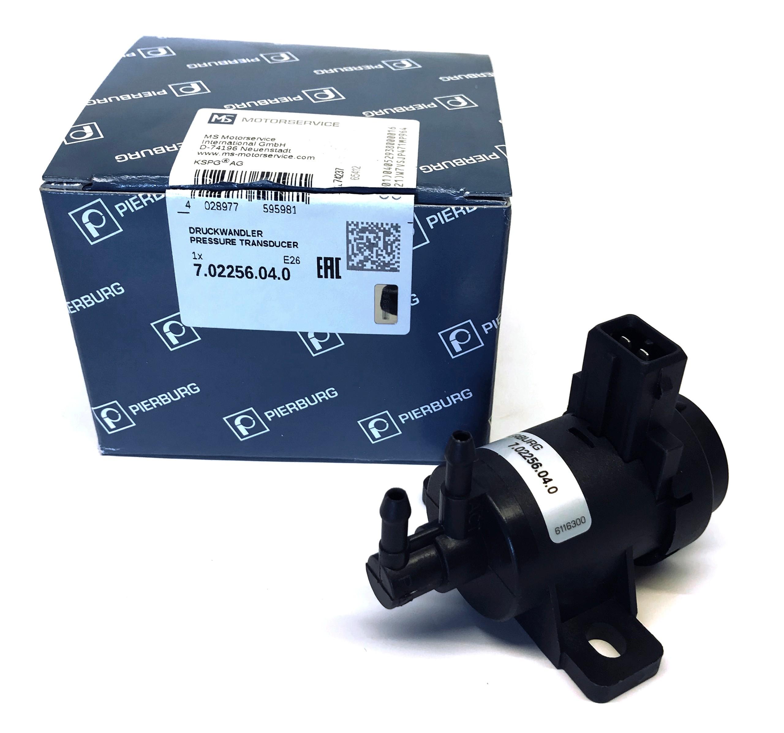 клапан давления турбины 702256040 renault 19