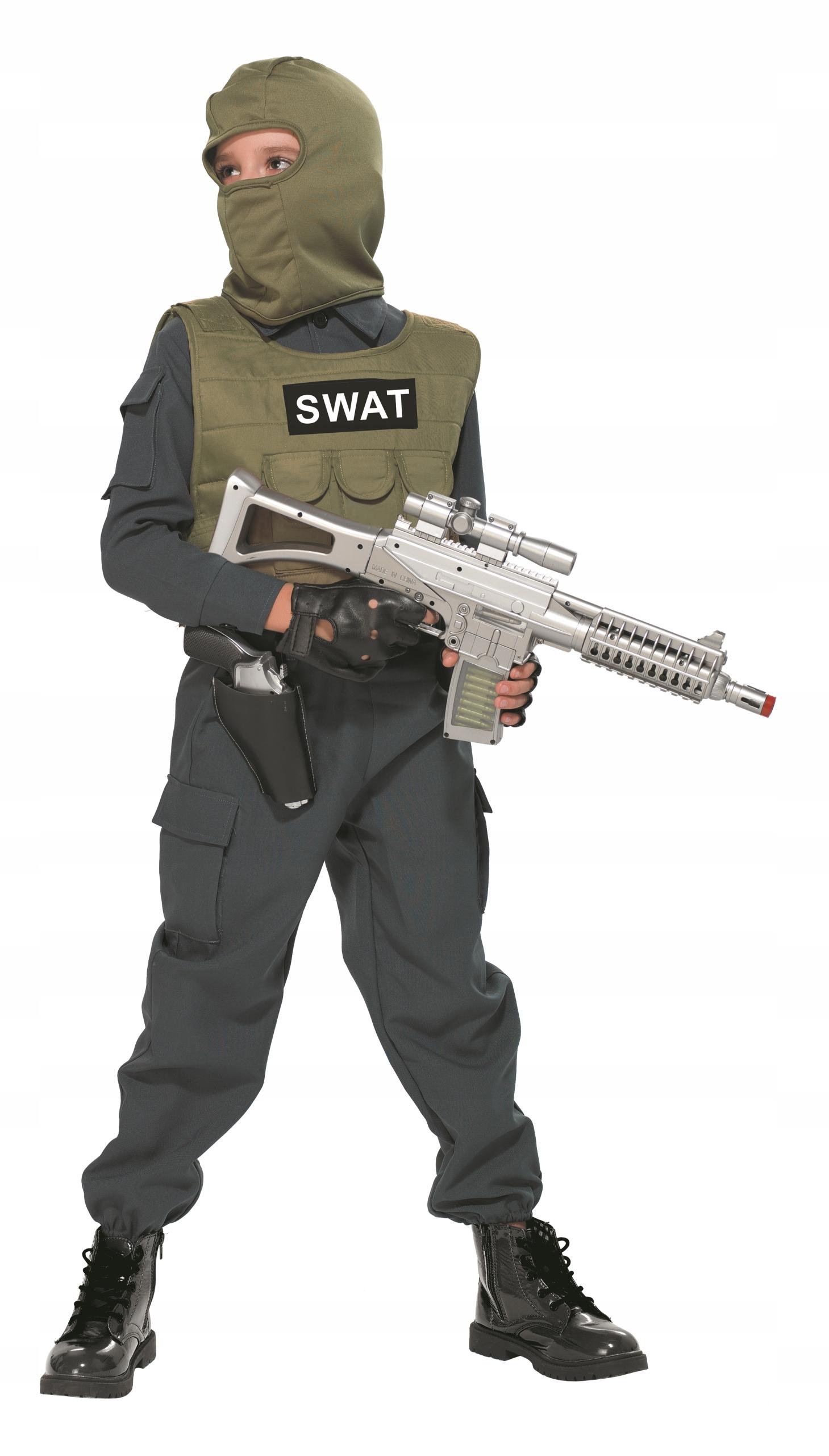 e38d5c40a80516 Policjant S.W.A.T SWAT Antyterrorysta 104 strój 7661568363 - Allegro.pl