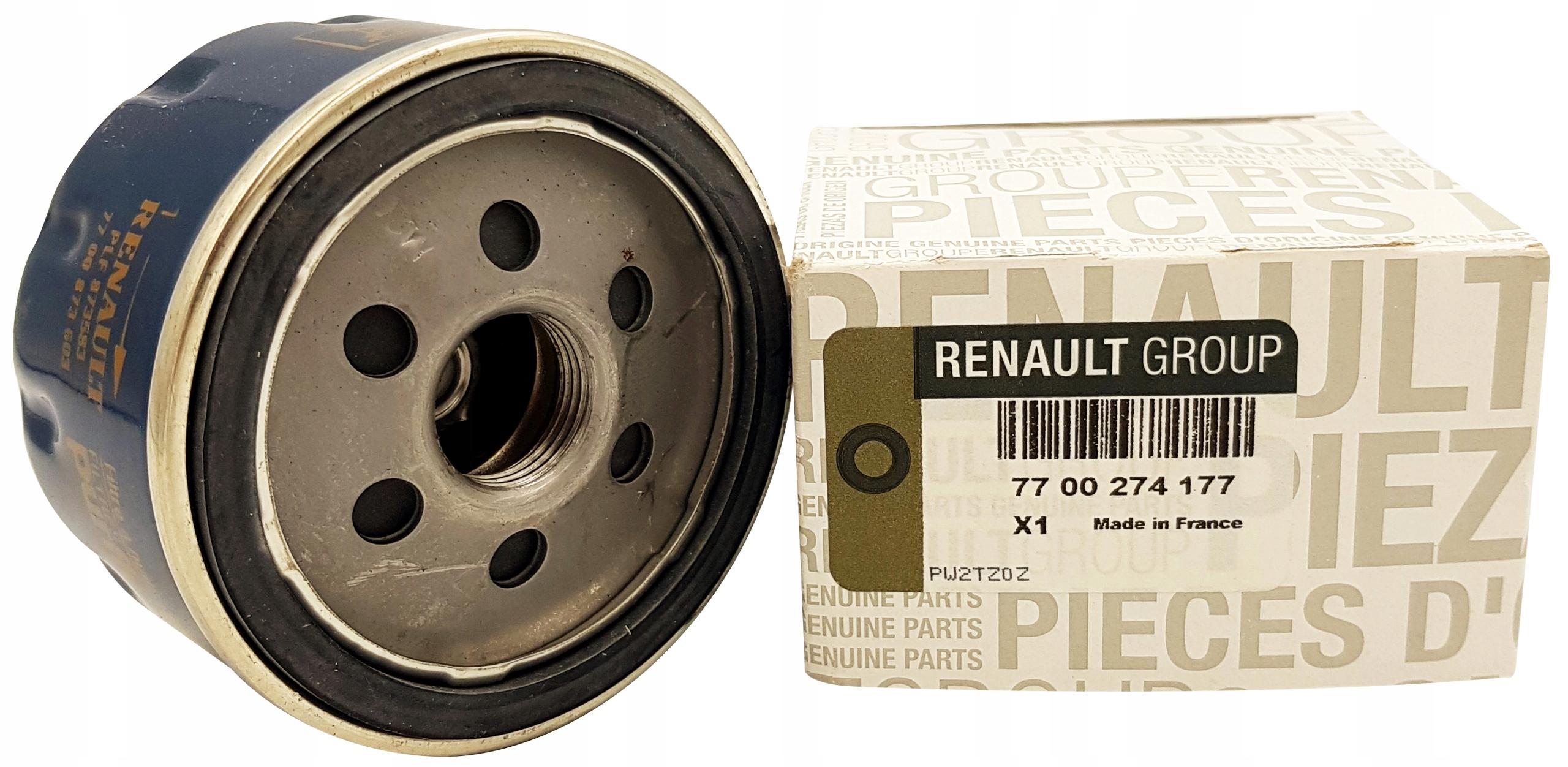 renault megane 16 19 20 фильтр масла оригинал