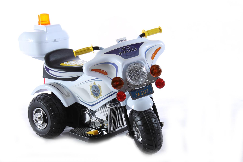 SUPER MOTOR POLICE MOTOR PRE FARBY BATÉRIE