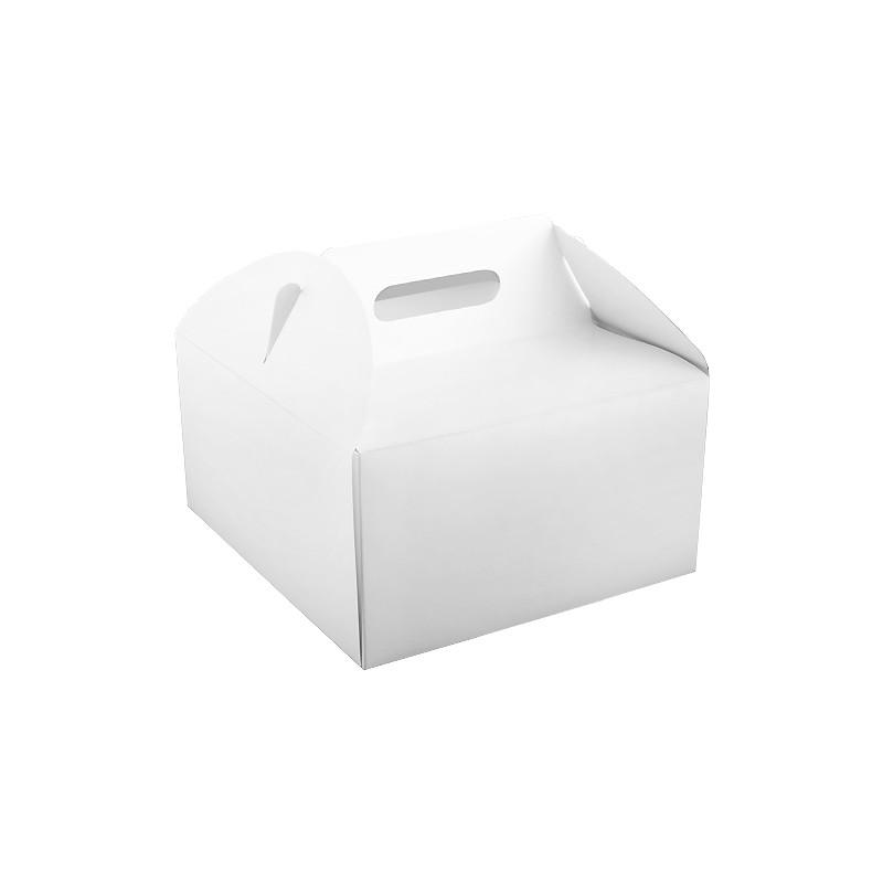 KARTÓNOVÉ KRABICE NA TORTY 30x30x16 BIELE 100 KS