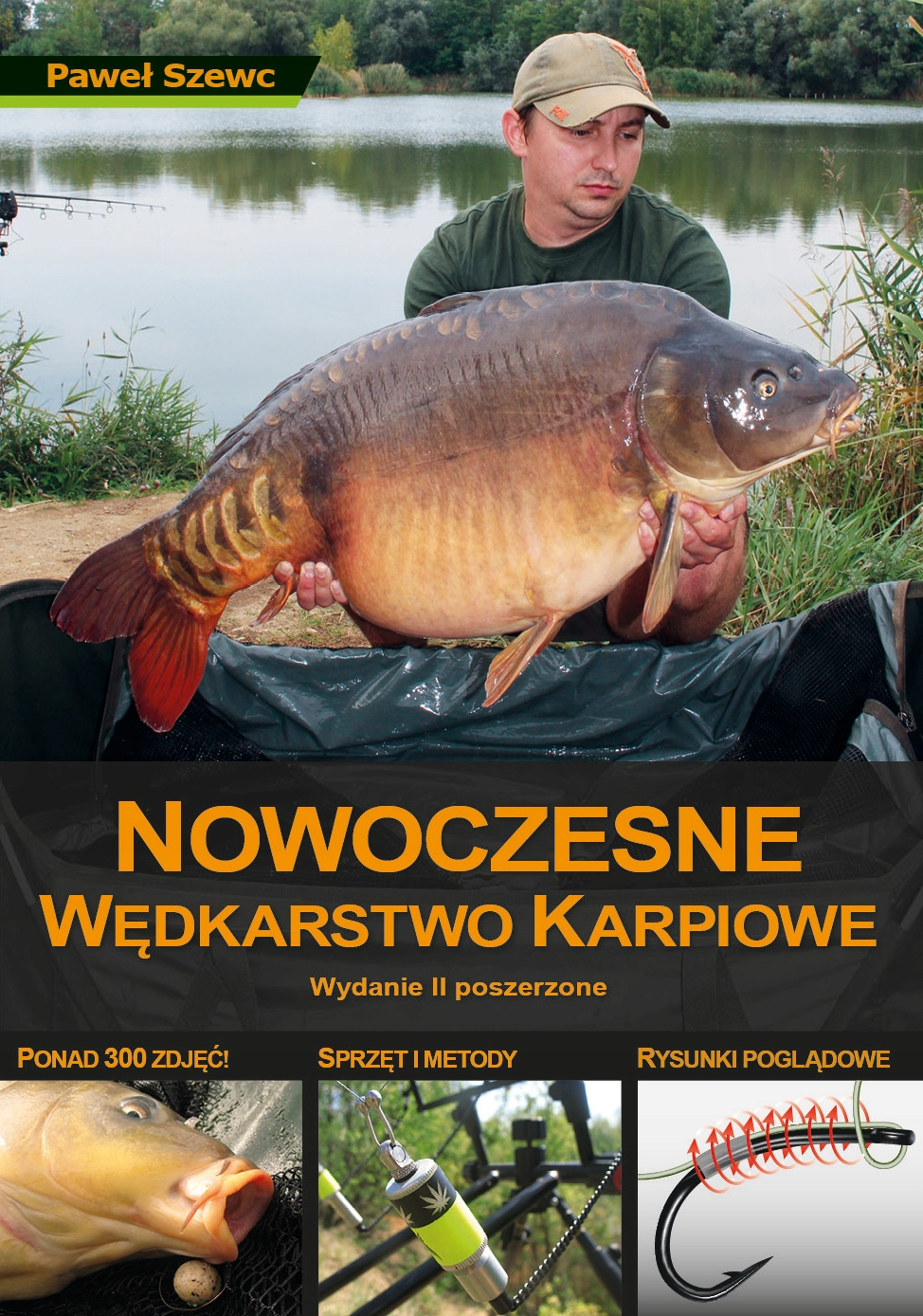 Książka Nowoczesne Wędkarstwo Karpiowe