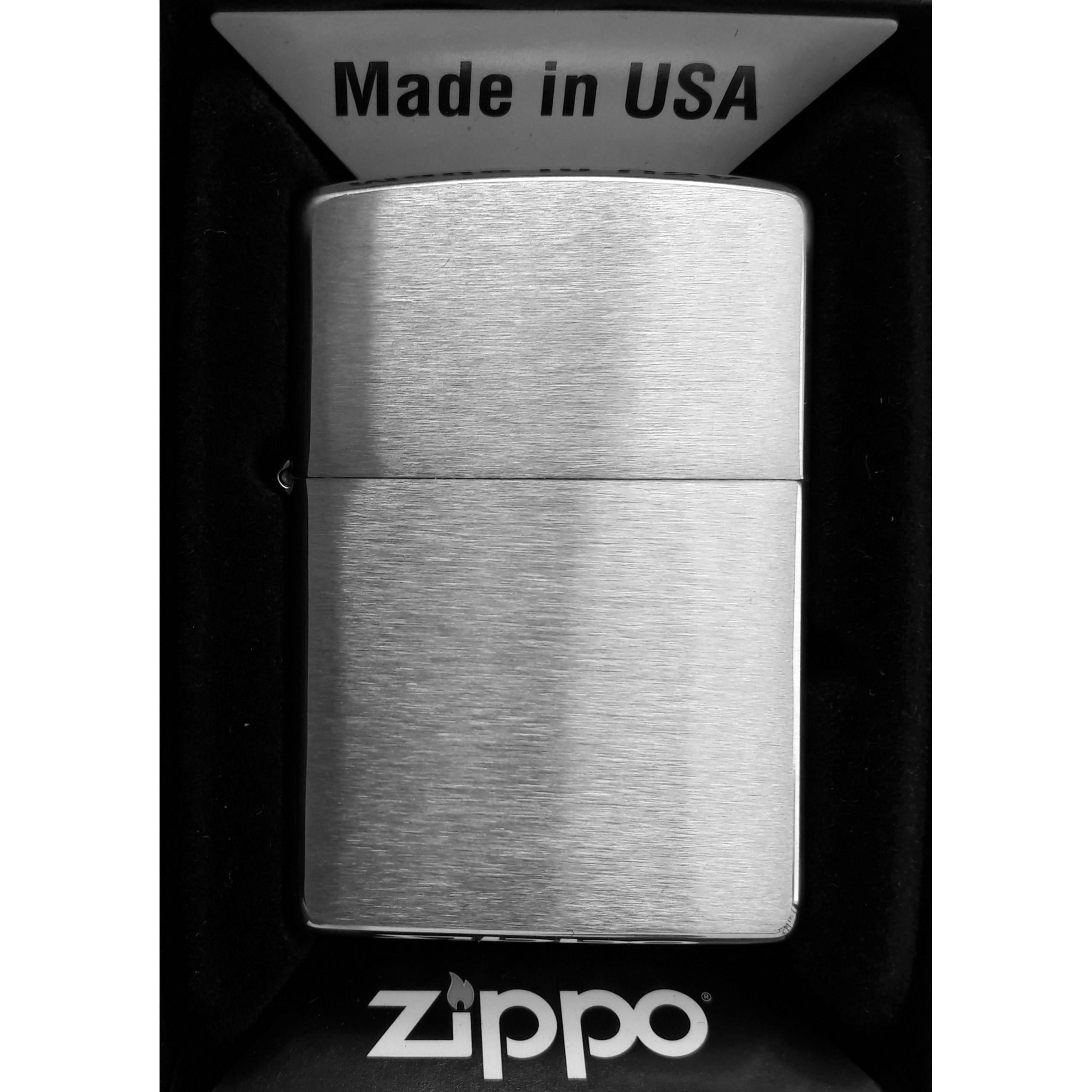Zapalniczka ZIPPO Brushed Chrome