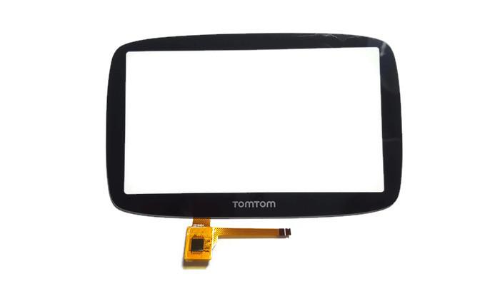 Dotknite sa dotykovej obrazovky TomTom GO 5000 Ver: Hannstar
