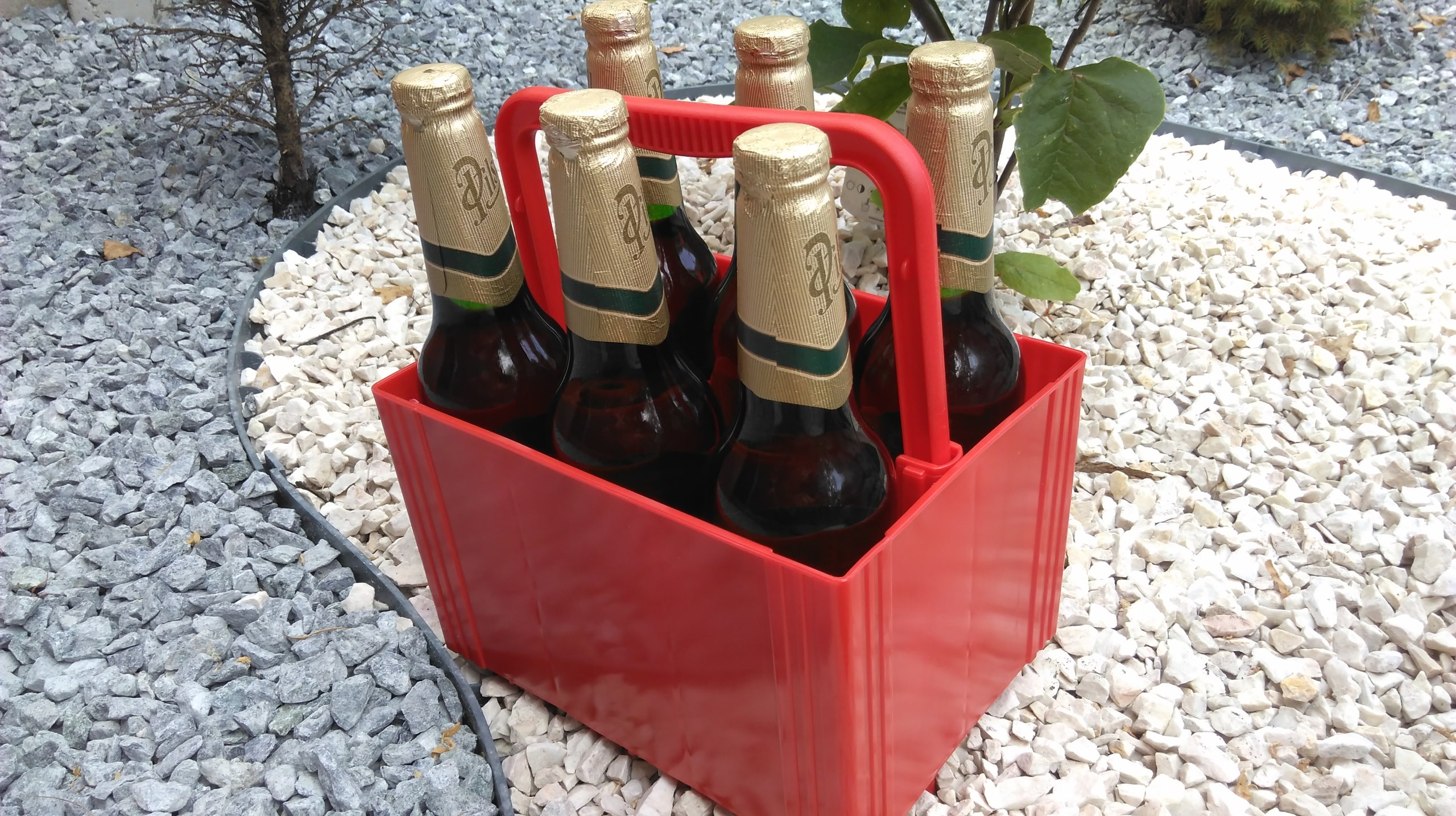 Пивная коробка 6 упаковок 6 х 0,5 л в подарок