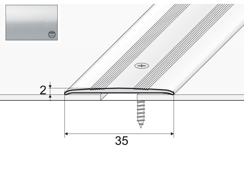 A08 Pripojovací pás pre Strieborné posilňovanie 93 cm