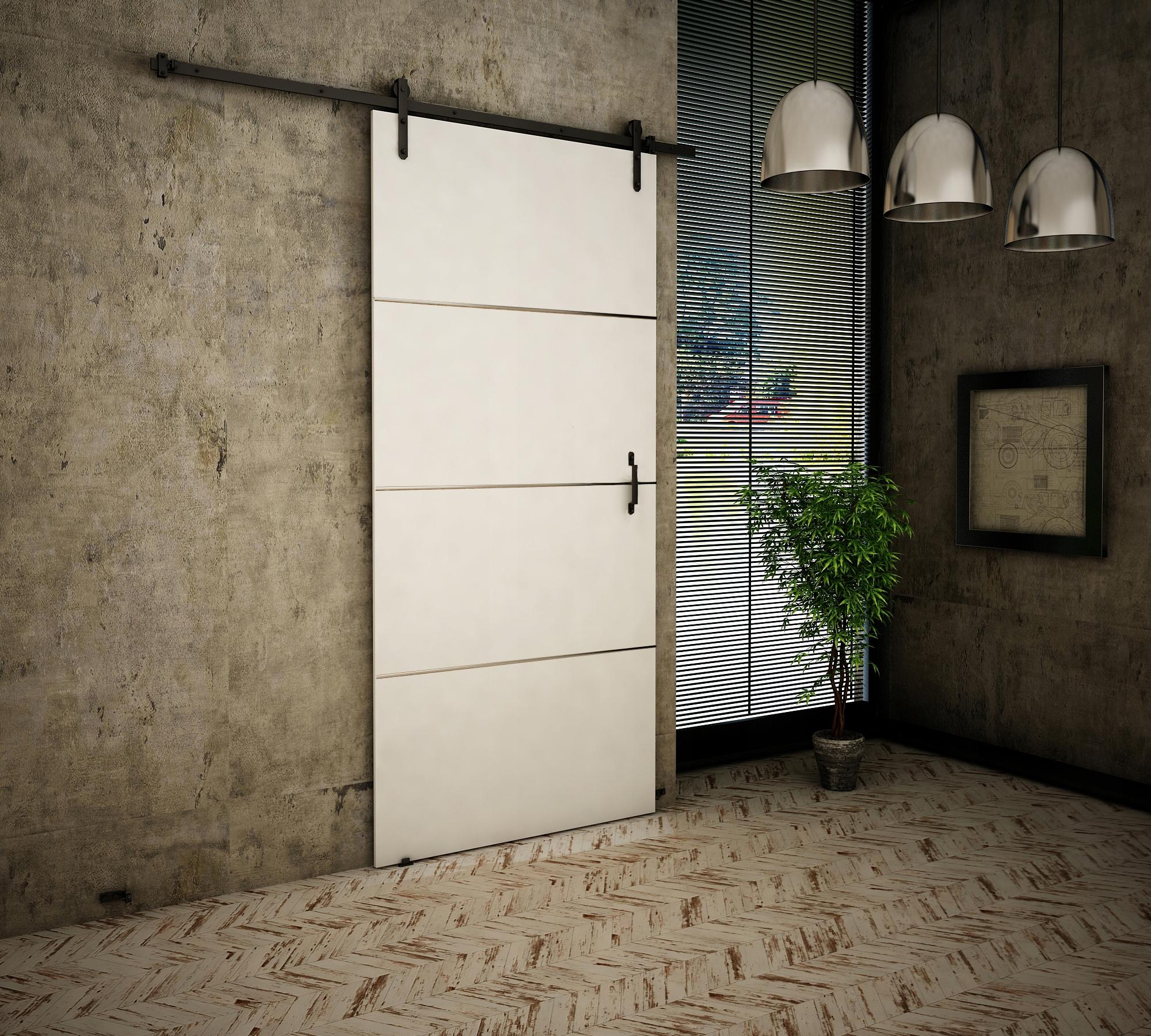 Dvere v starom štýle + Biela 80 Retro