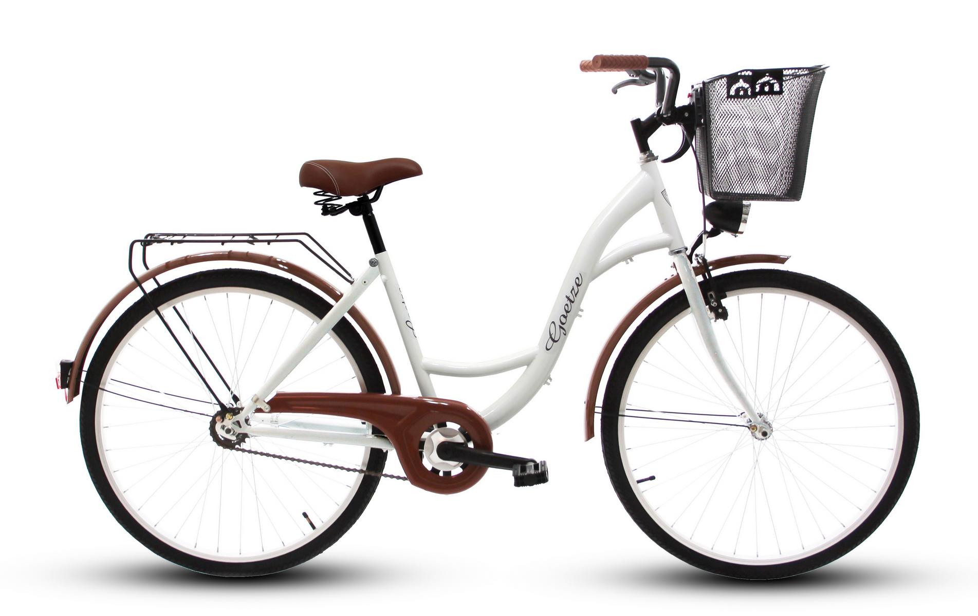 Dámsky mestský bicykel GOETZE 26 eco lady + košík !!!  Veľkosť rámu 17 palcov