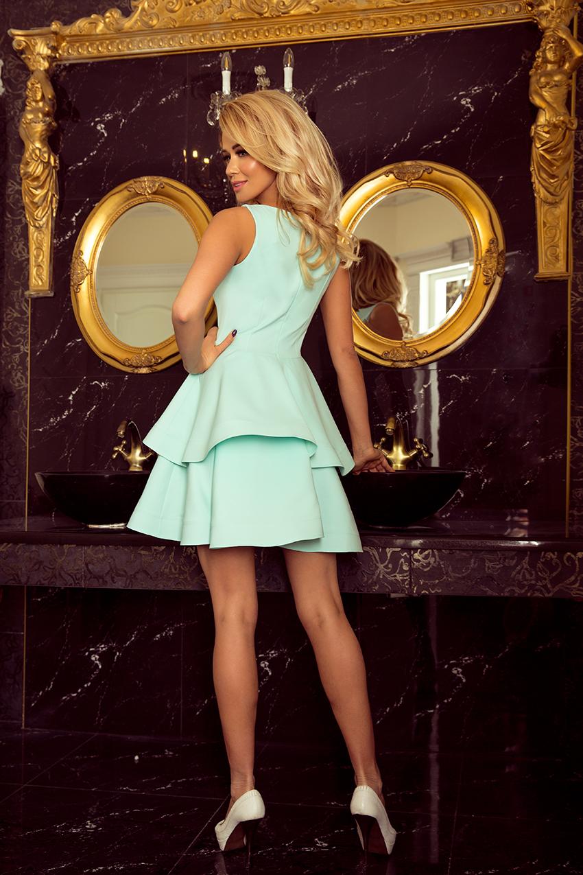 CUDOWNA Sukienka MINI NA KAŻDĄ OKAZJĘ 169-4 r.S 36