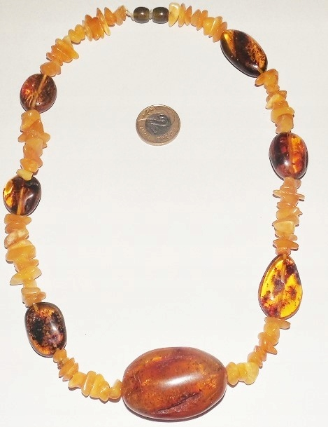 AMBER BALTIC náhrdelník 38.6 g (m95)
