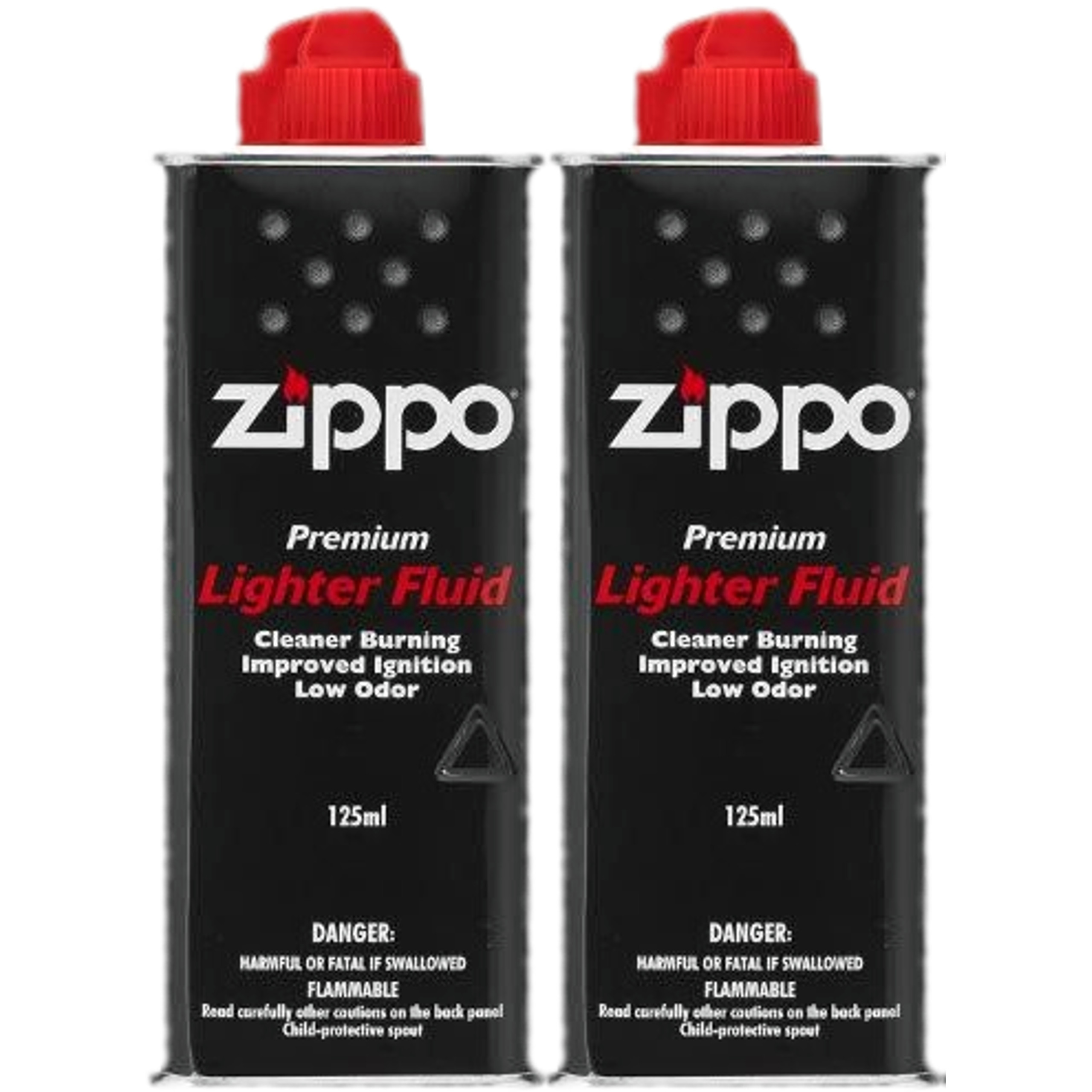 2x Бензин ZIPPO 125ml для зажигалок бензиновых двигателей