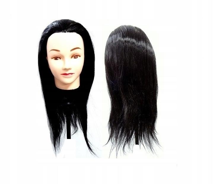 Головка для головы парикмахера-тренинга Анета 55 см БЛ