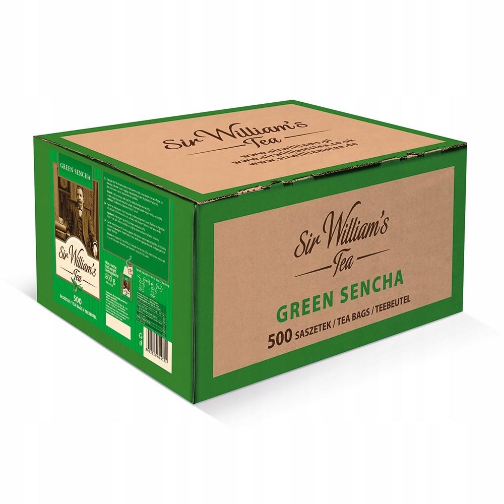 Čaj Pane Williams Zelený Čaj Sencha 500pcs