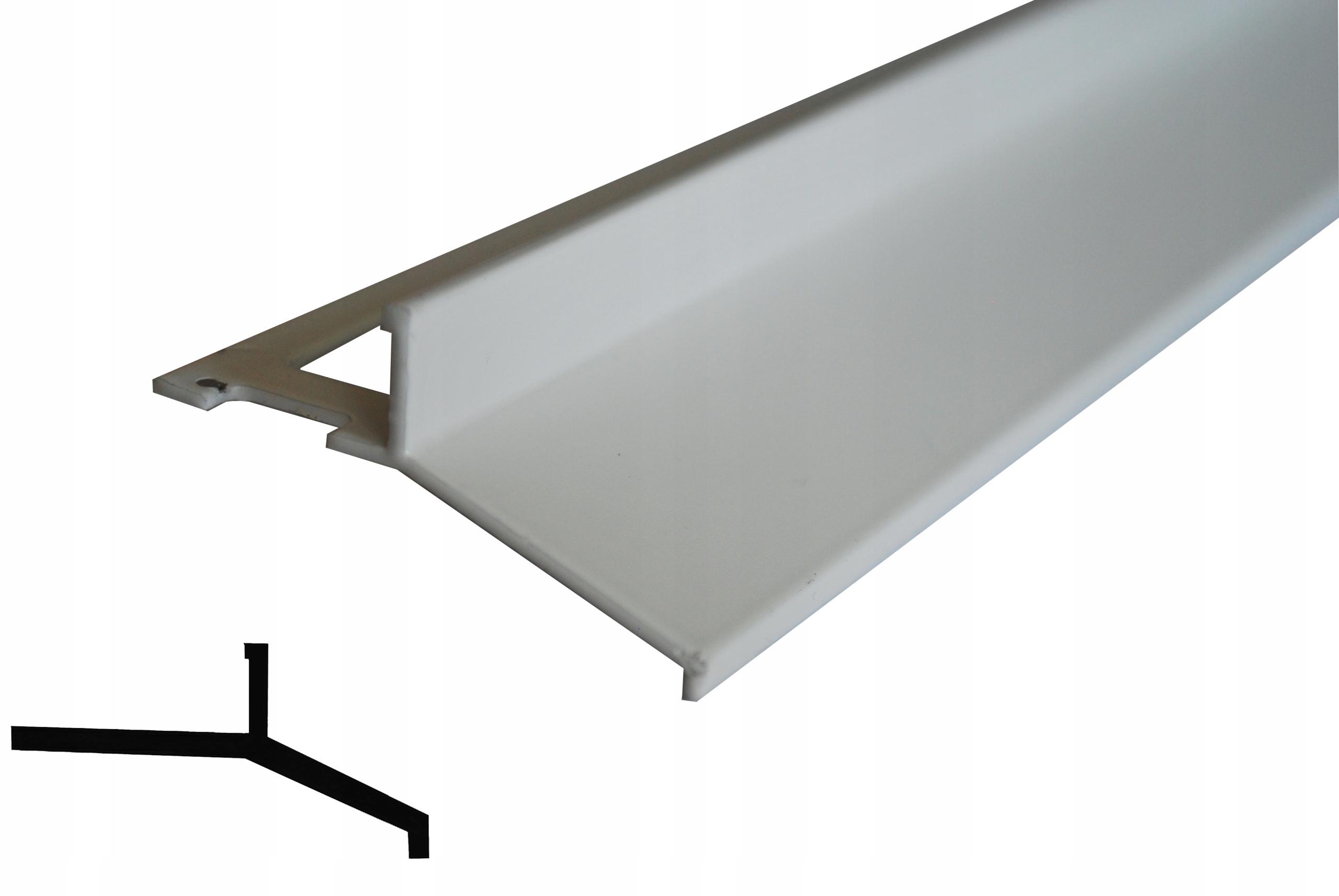 Profil Balkonowy Tarasowy Okapnik Bialy 7498790789 Allegro Pl