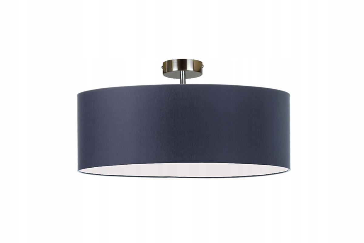 LAMPA plafon abażur GRANATOWY BLUES TANIO Wys 24H