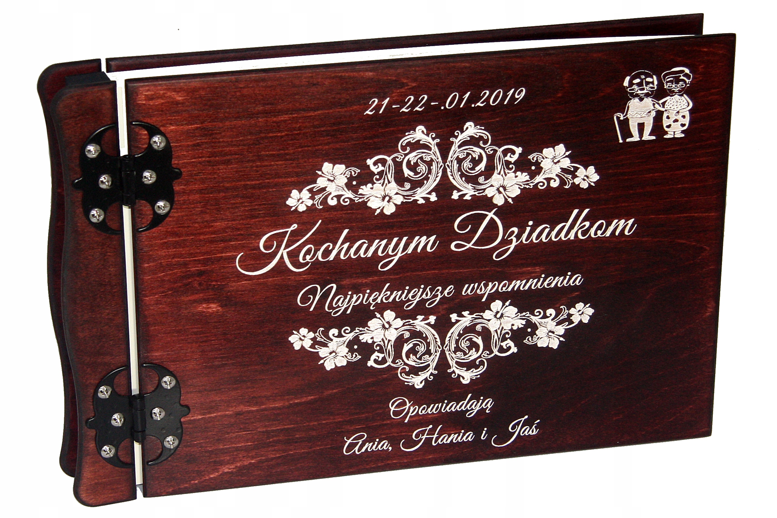 Album Drewniany Prezent Dla Babci Dzien Dziadka 7773820000 Sklep Internetowy Agd Rtv Telefony Laptopy Allegro Pl