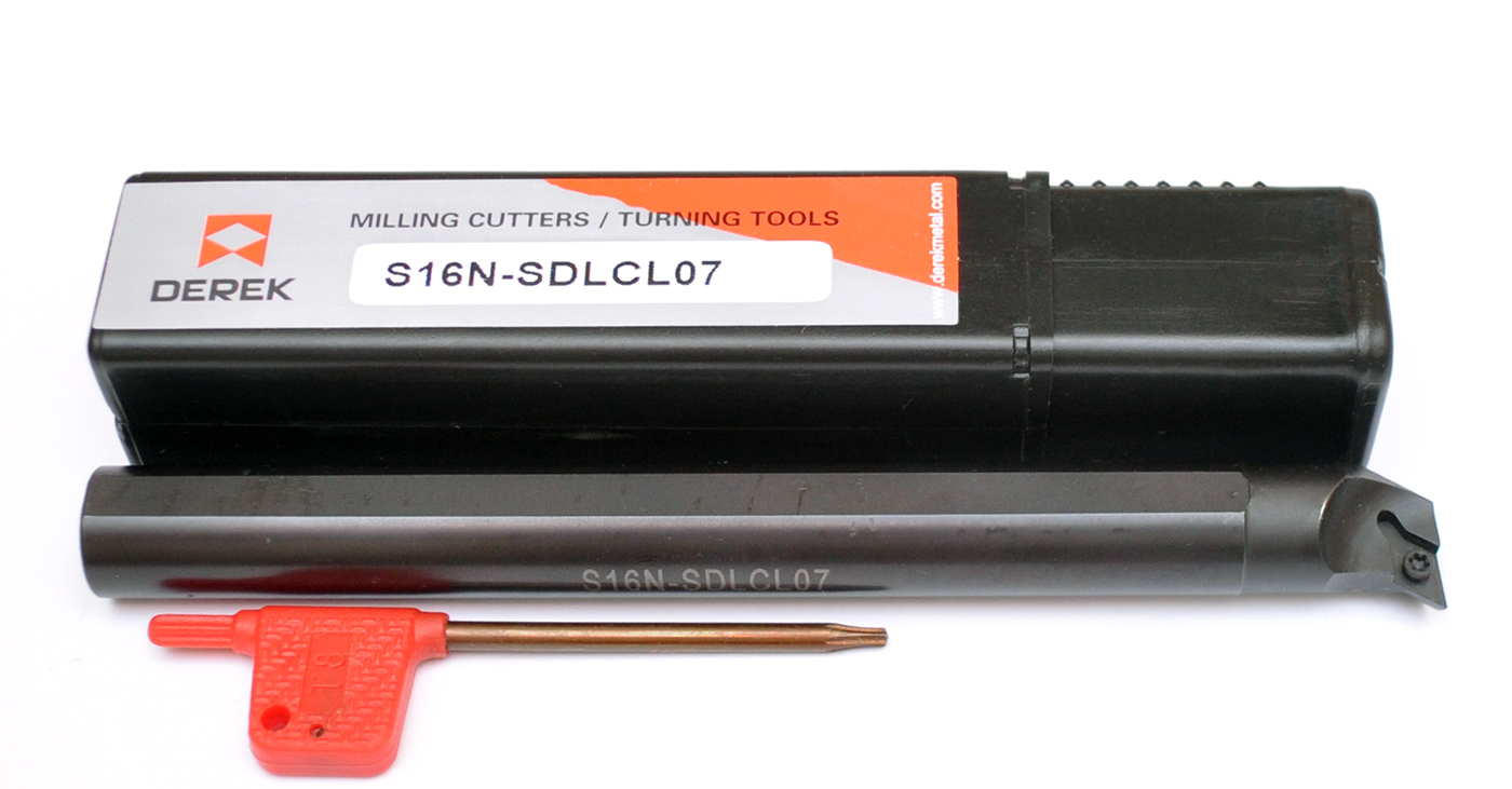Nôž S16N SDLCL07 Vľavo na DCMT 0702 * FV *