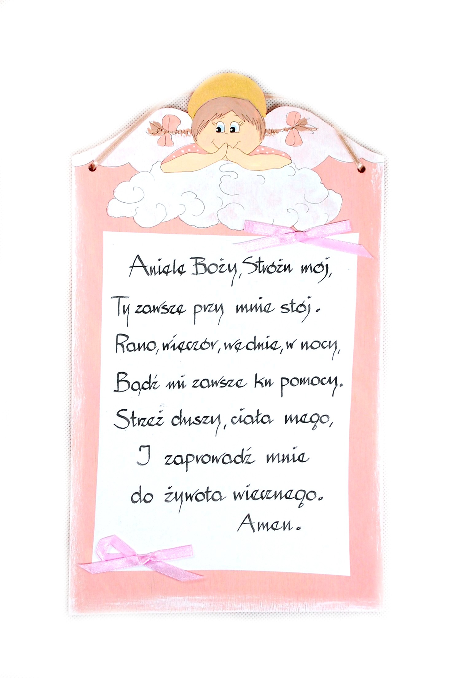 Modlitba Angele Boží dar.