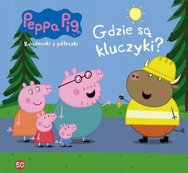 Peppa pig Книги 50 Где ключи? - KD