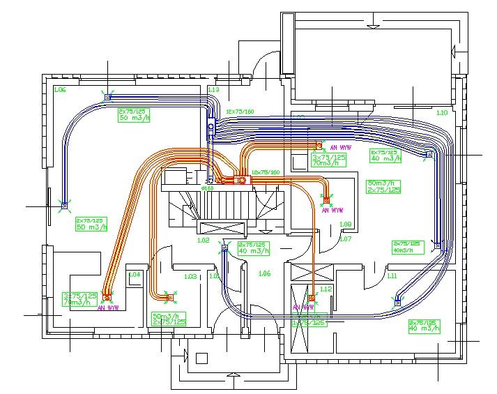 Проект рекуперации, вентиляции и рекуперации тепла
