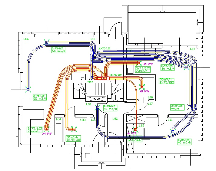 Проект рекуперации вентиляции COST ESTIMATES