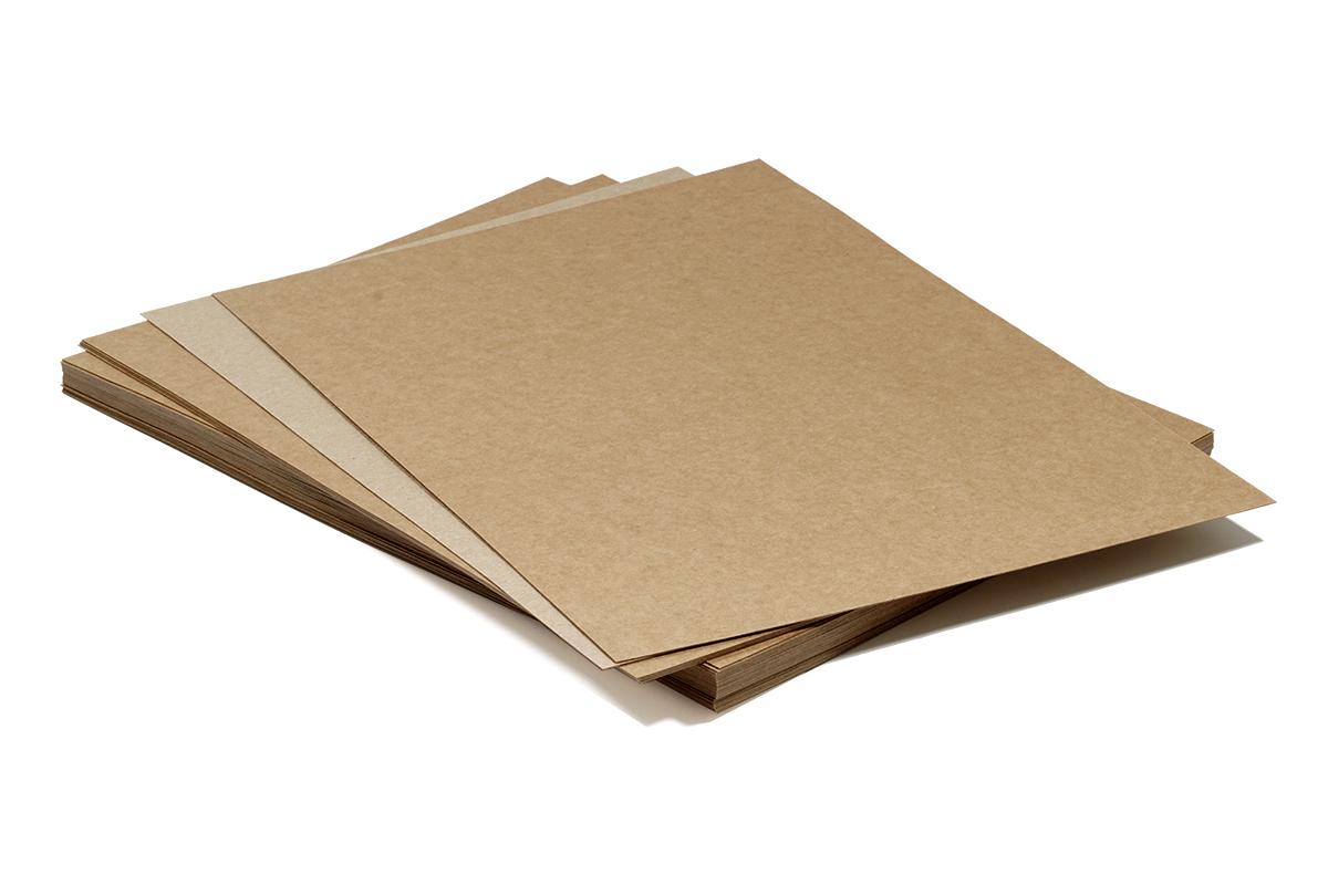 Item Recycled paper Eco KRAFT 250 g 20A4 wizytówkowy