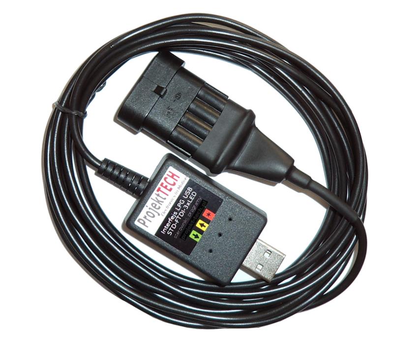 LPG USB-ИНТЕРФЕЙС для Q-box KME STAG LOVATO LPGTECH